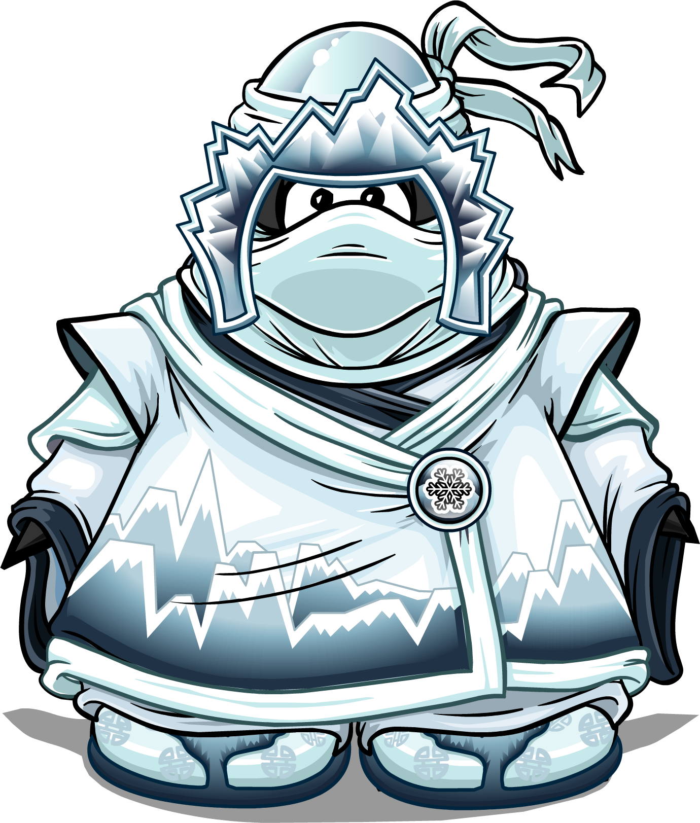 Snow penguin wiki fandom. Club clipart card suit