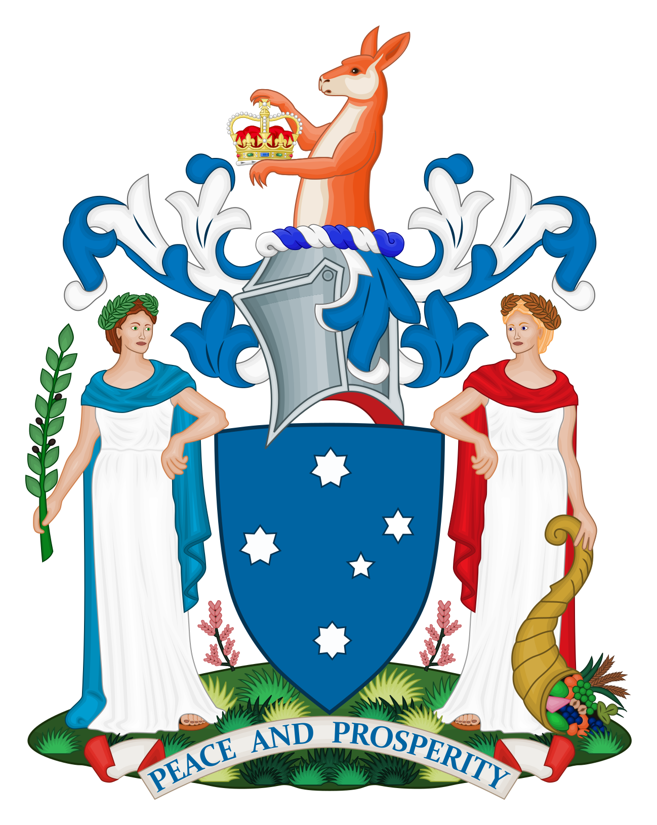 Coat clipart blue coat. File of arms victoria