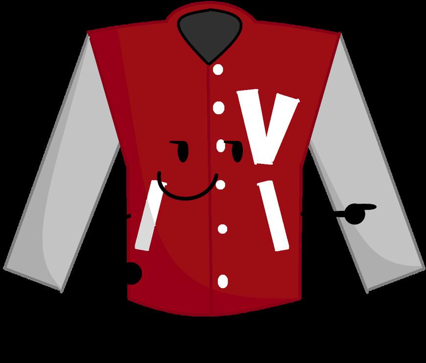 Varsity jacket object treachery. Leprechaun clipart coat