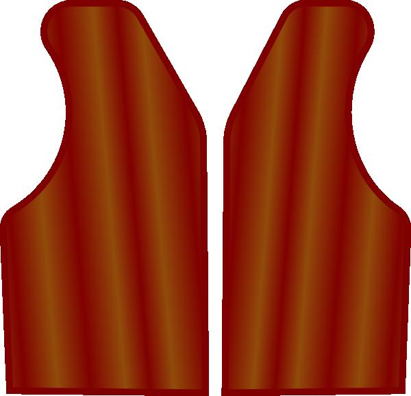 Shirt red vest
