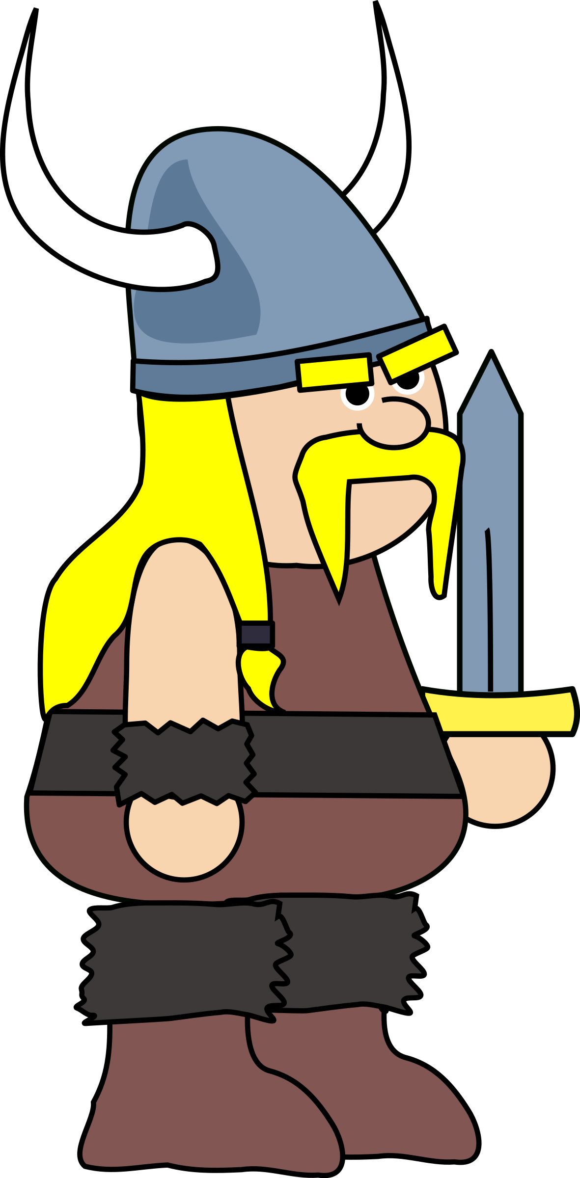 collection of viking. Warrior clipart medieval warrior