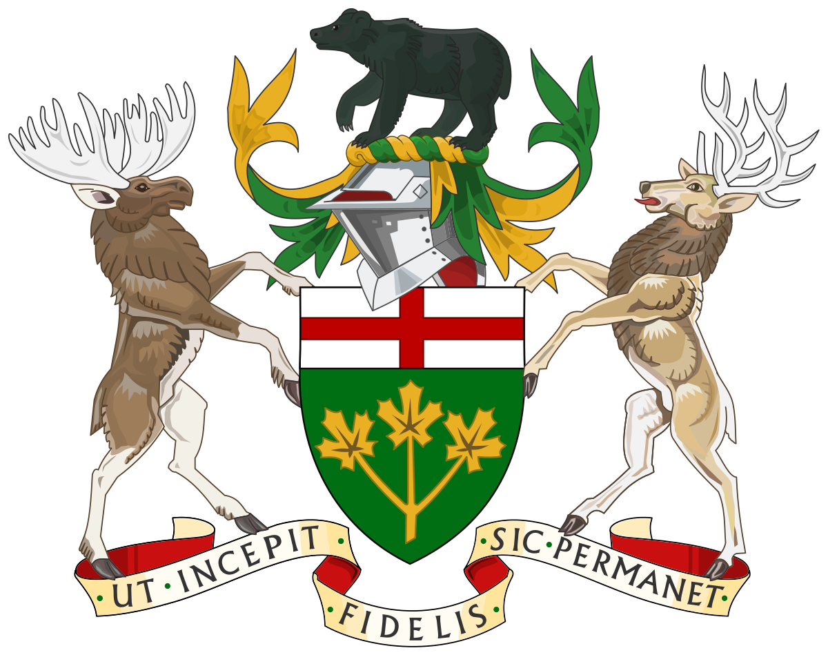 Intolerable acts clipart early settler. Coat of arms ontario