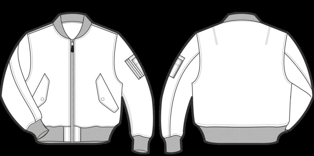 Zipper clipart illustrator. Jacket technical drawing cerca
