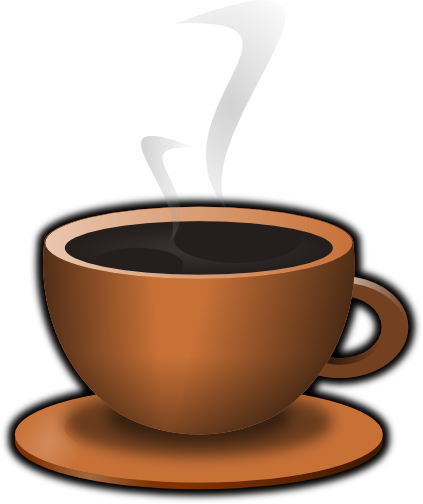 The top best blogs. Clipart coffee