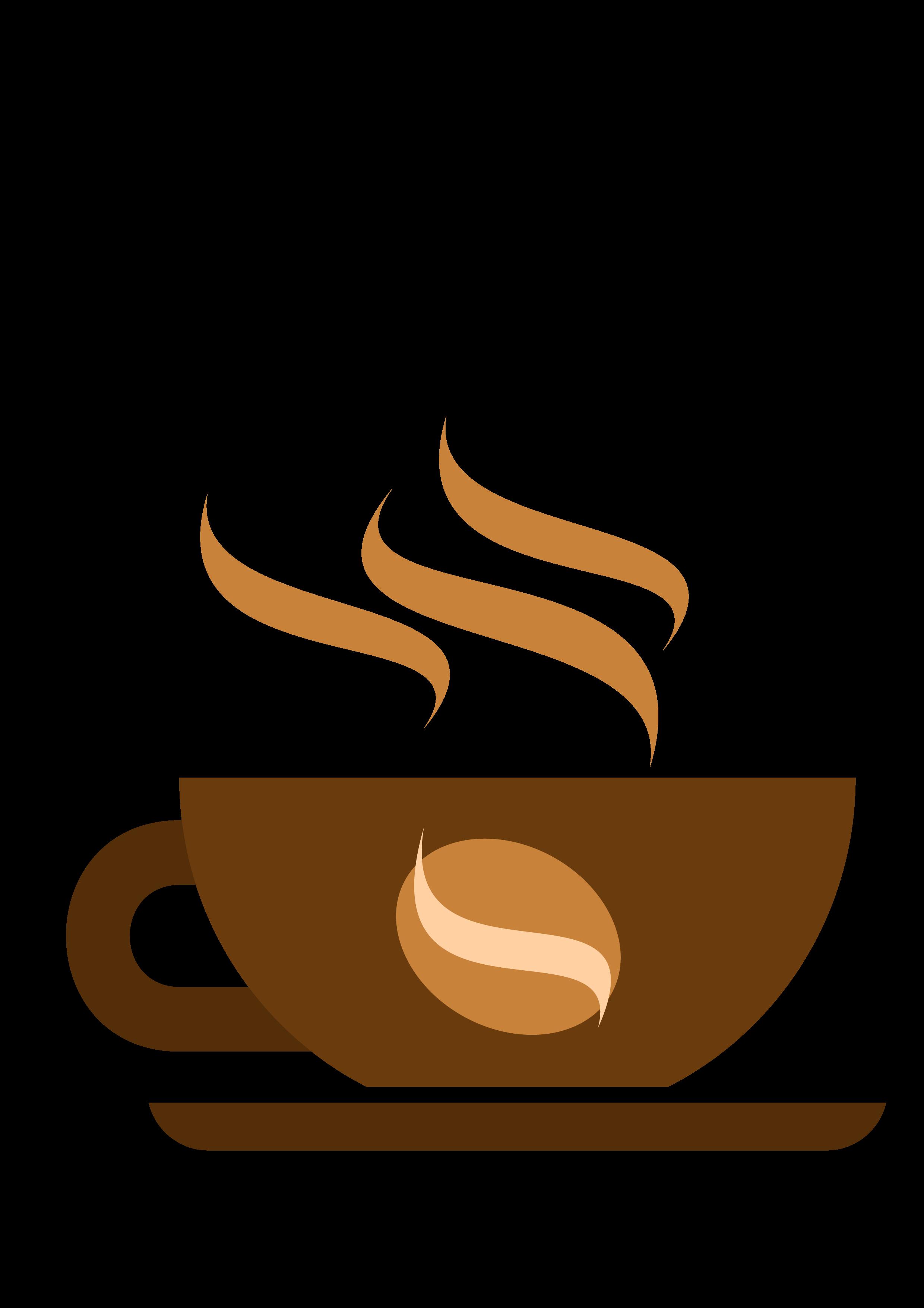 Mug clipart coffee bagel. Cafe clip art cartoon