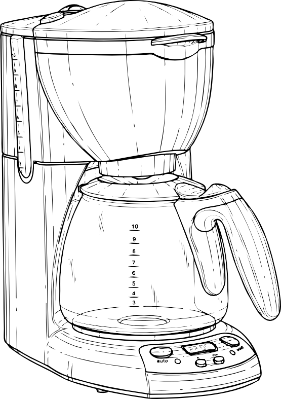 Clipartist net clip art. Clipart coffee black and white