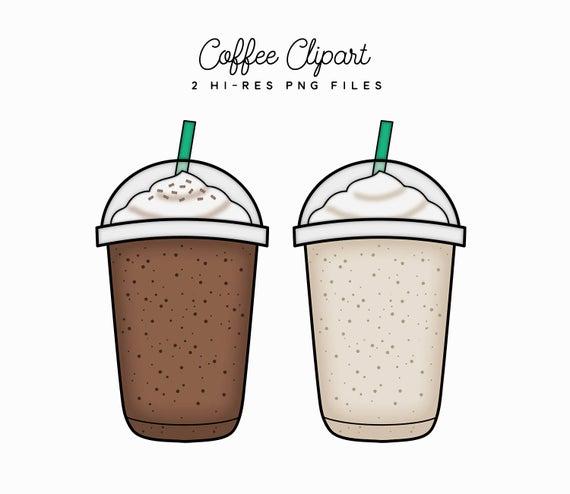 Items similar to iced. Coffee clipart milkshake