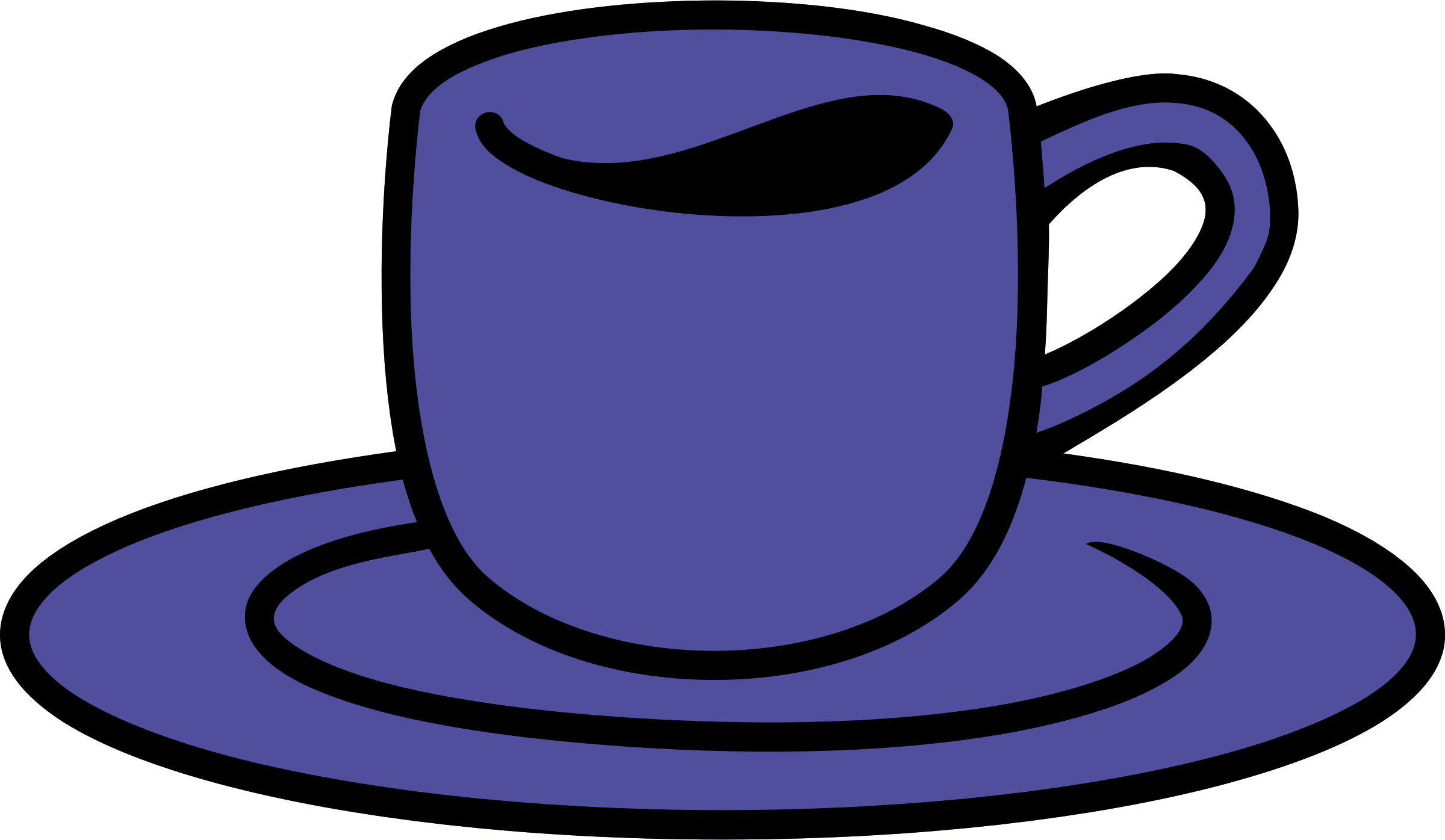 Cup big image png. Clipart coffee blue