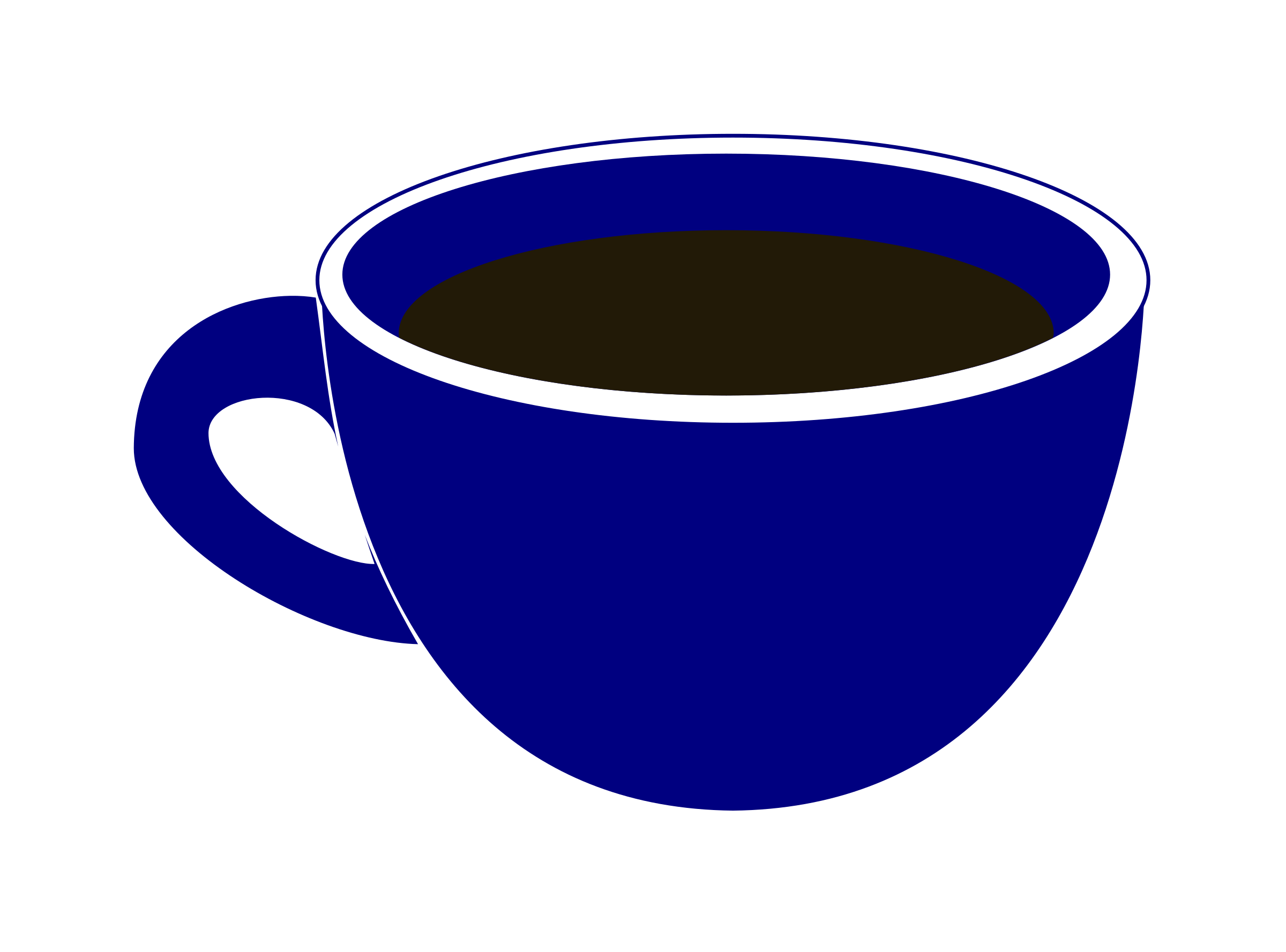 Clipart coffee blue. Cup images free download