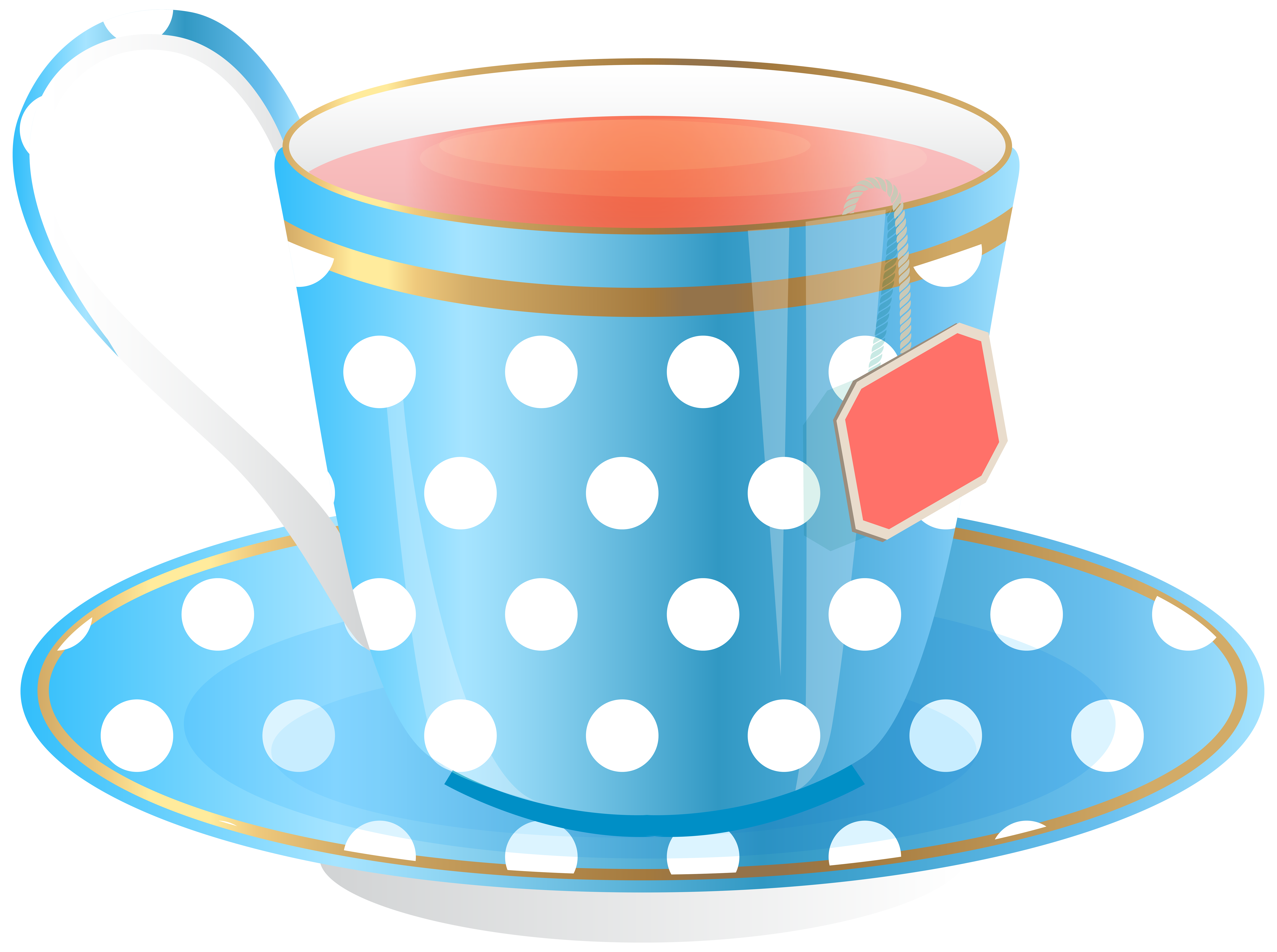 Tea cup png transparent. Clipart coffee blue
