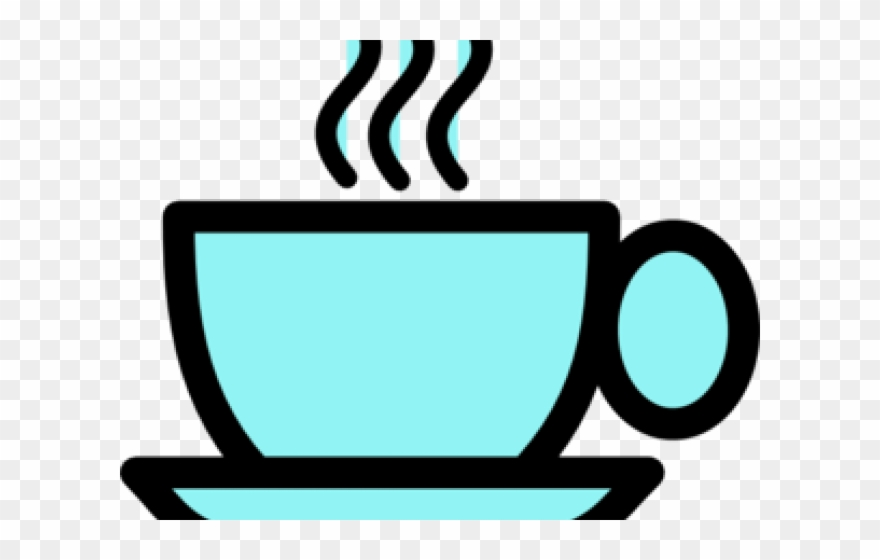 Coffee clipart blue. Cup simple drawing png