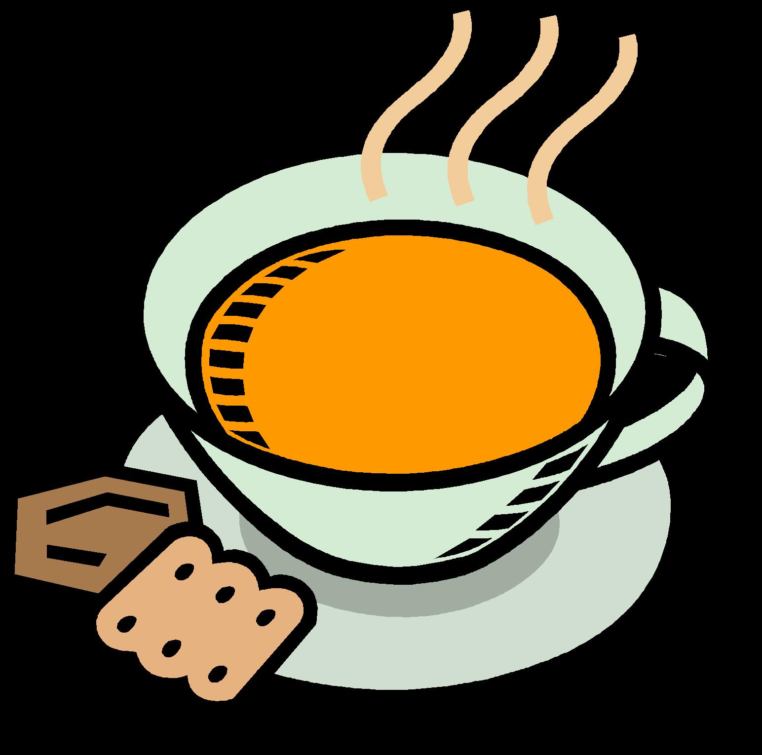 Chicken soup chili con. Clipart coffee bread
