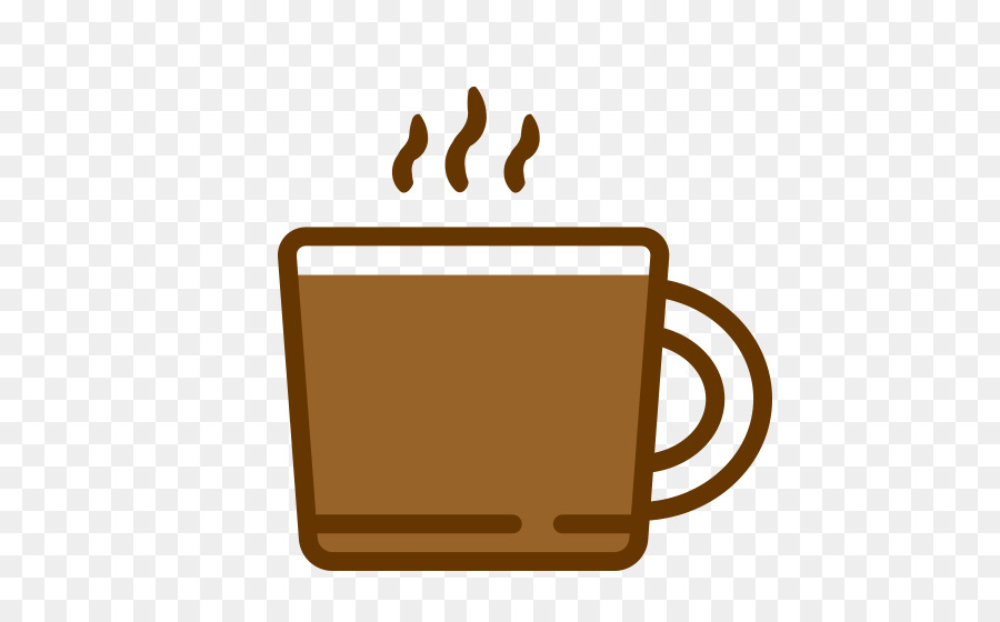Cup of font line. Clipart coffee brewed coffee