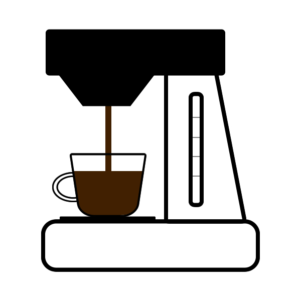 Clipart coffee brewed coffee. Maker free download best