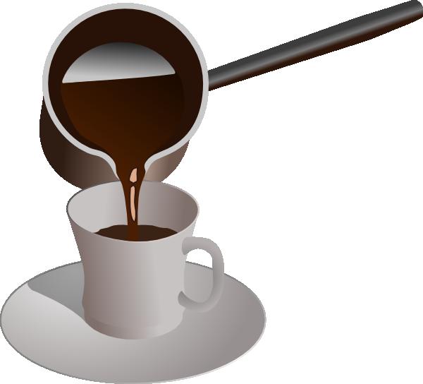 Turkish being served clip. Clipart coffee caffeine