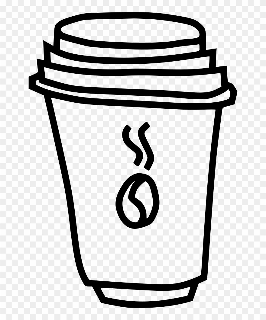 Cup beverage drink comments. Clipart coffee caffeine