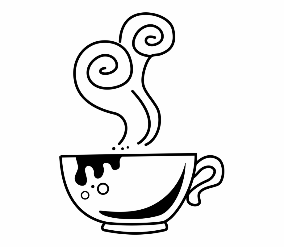 Clipart coffee caffeine. Beverage cup doodle drink