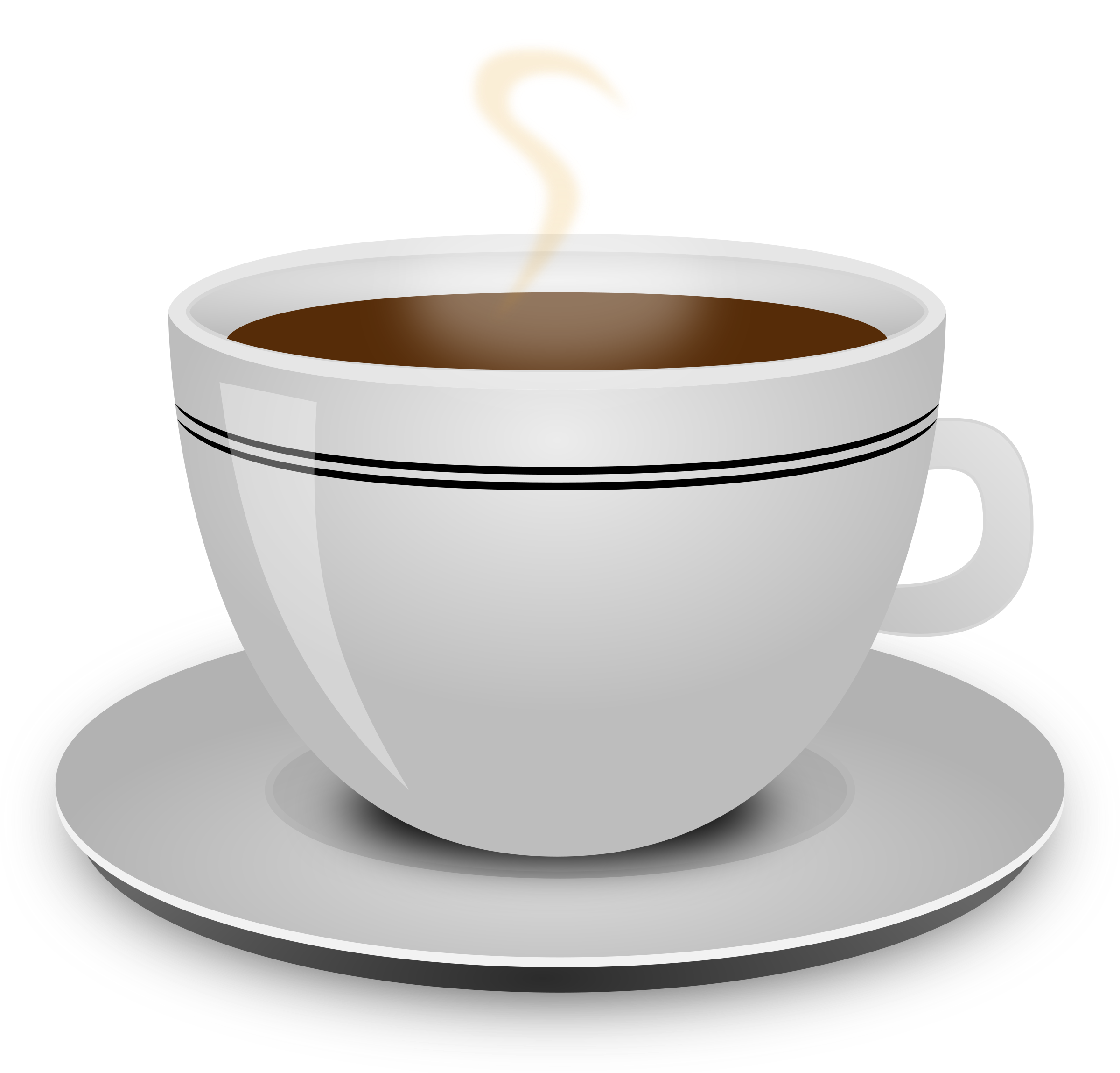 Cup. Clipart coffee caffeine