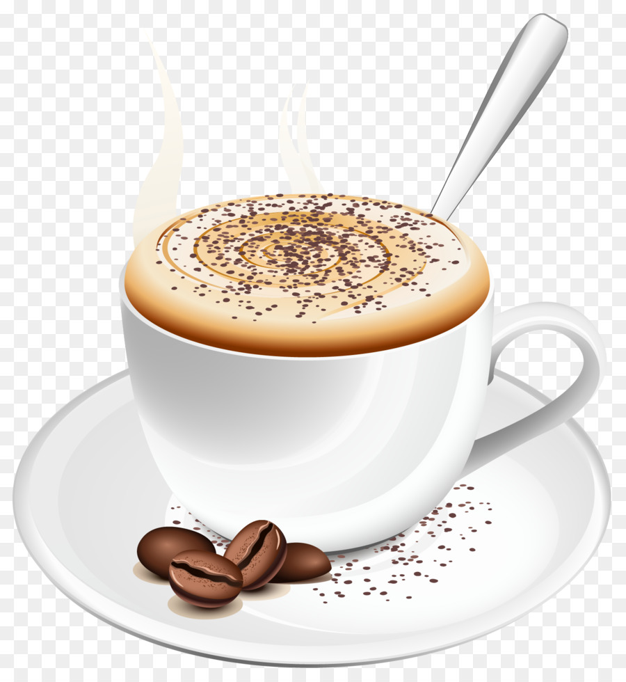 Clipart coffee cappuccino. Cup of cafe drink