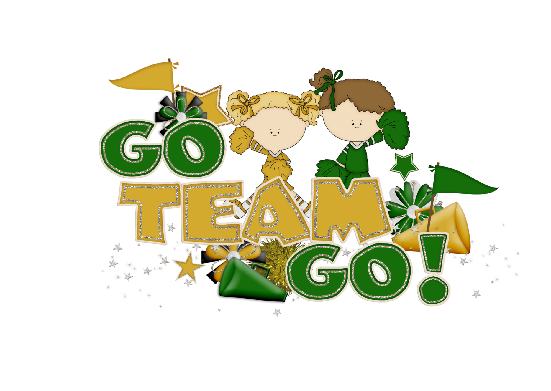 Clipart coffee cheer. The go team cheerleading