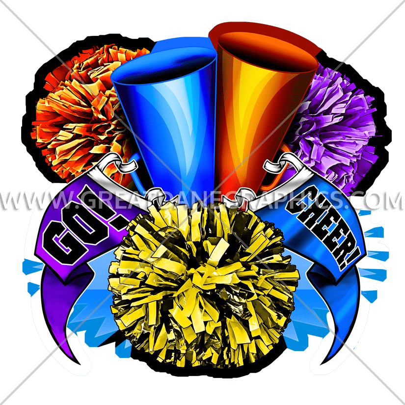 Clipart coffee cheer. Pom production ready artwork