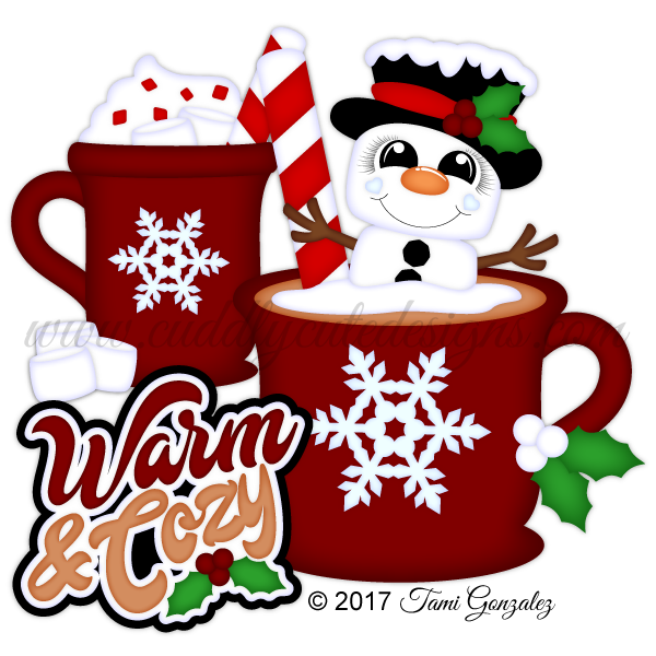 Clipart coffee christmas. Warm and cozy png
