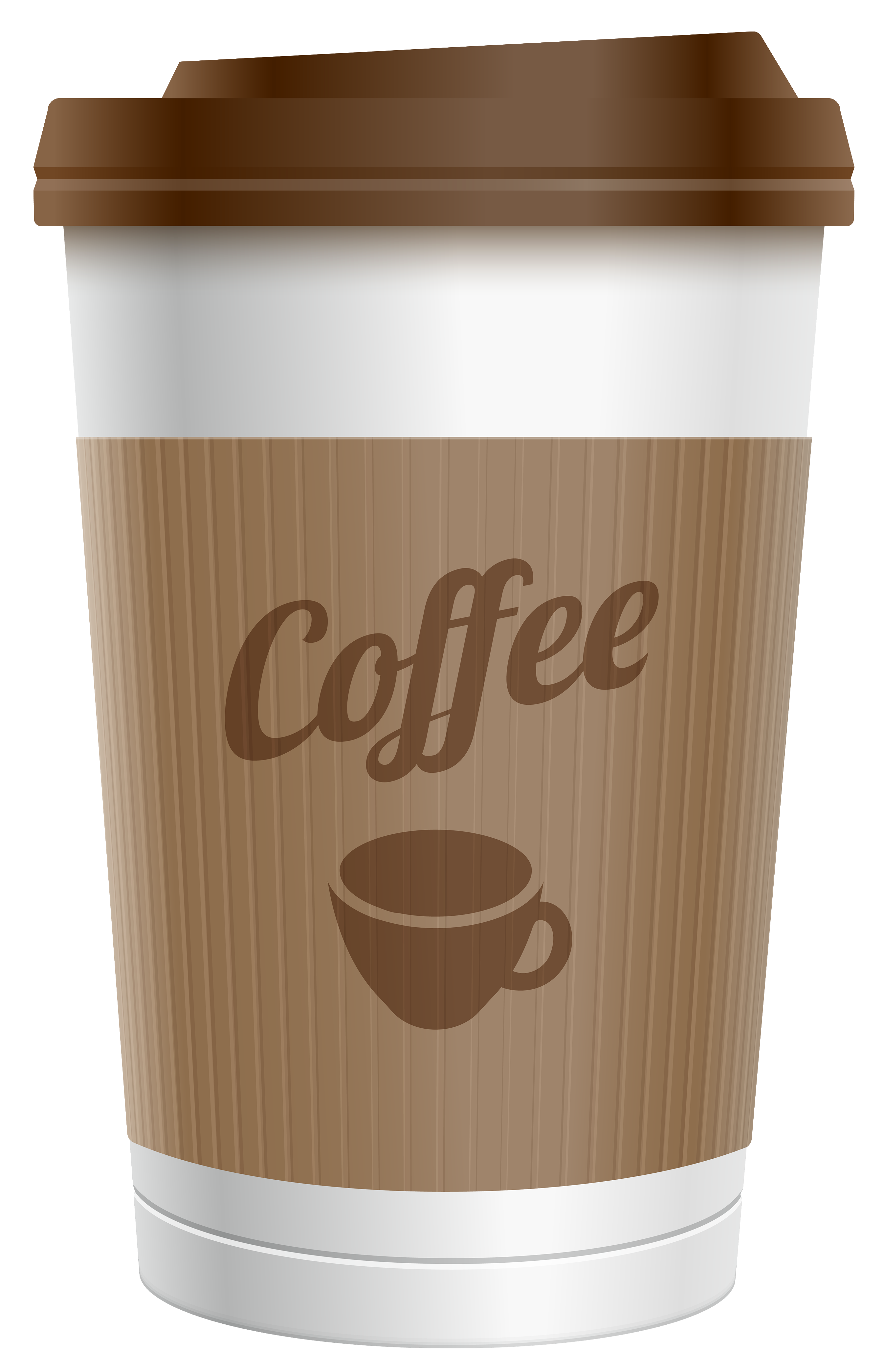 Coffee cups heart cup. Drinks clipart takeaway