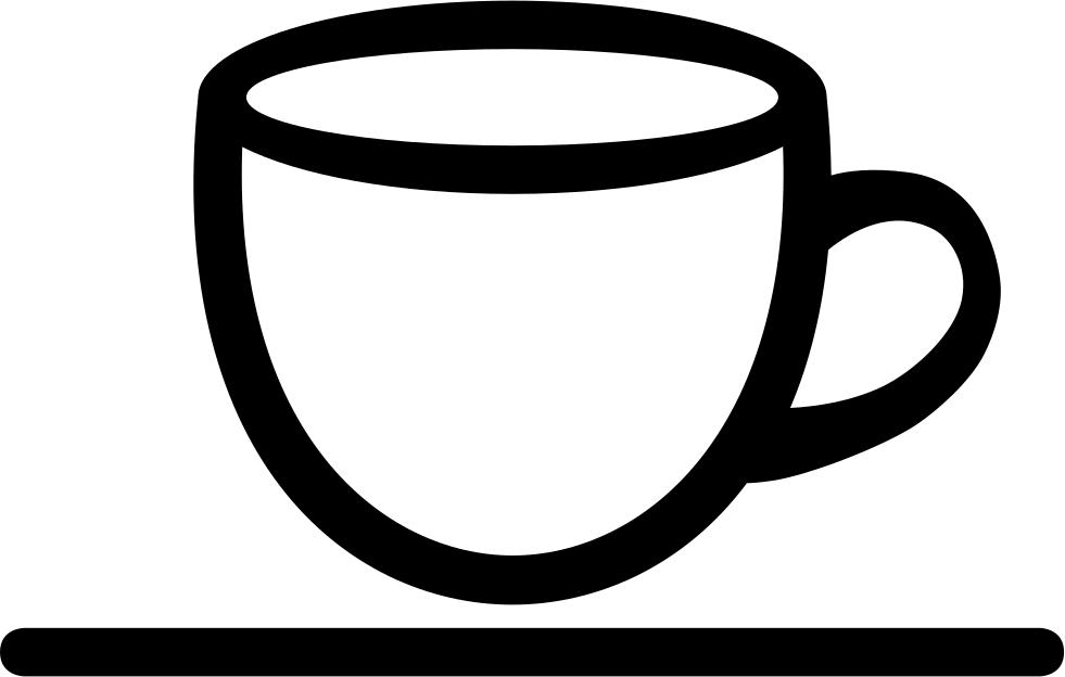 Coffee shop interface symbol. Mug clipart hard object