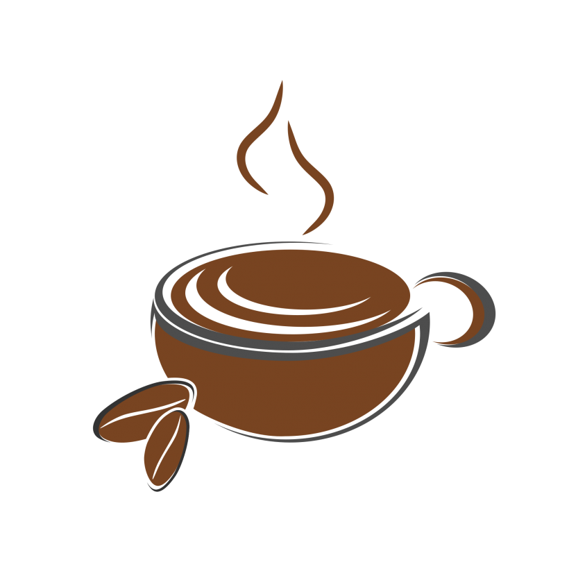 Clipart coffee coffee station. Shop logo royalty free