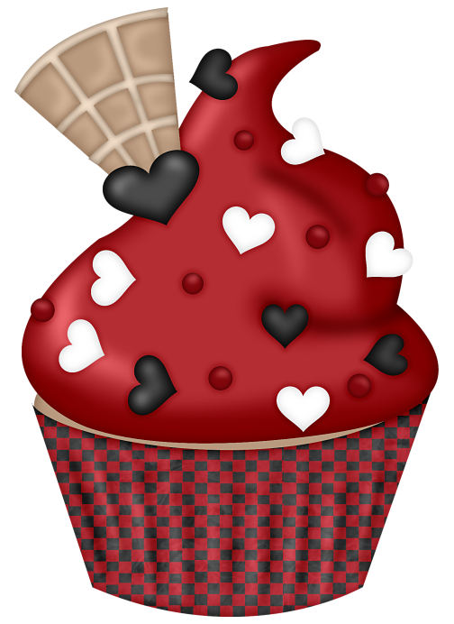 Snp tchequred love satc. Muffins clipart turquoise