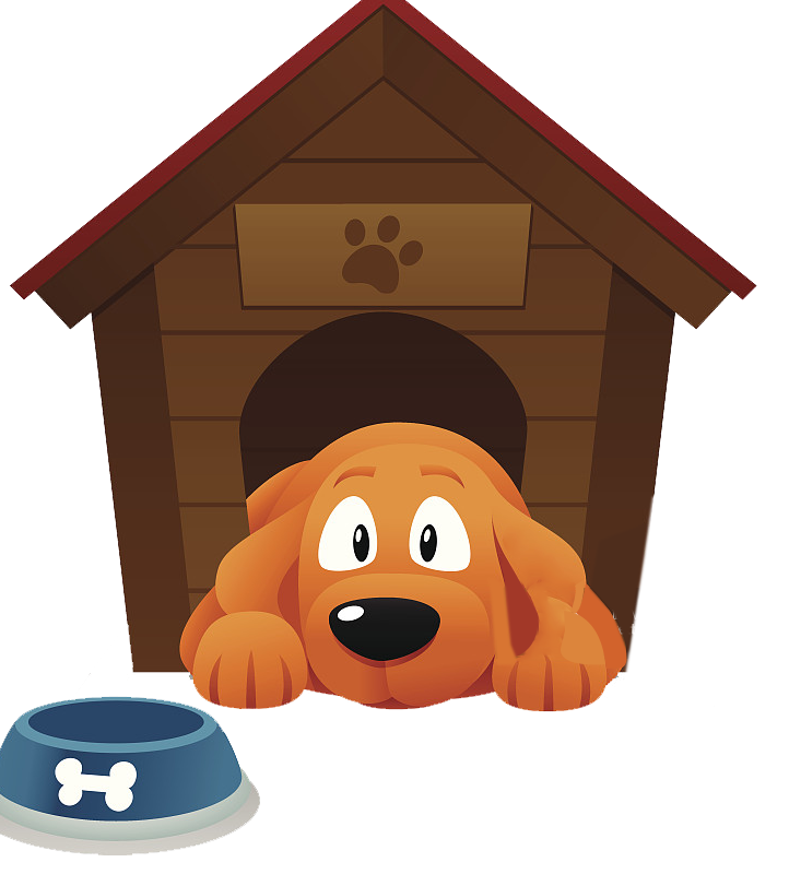 Clipart dog coffee. Houses pet sitting kennel