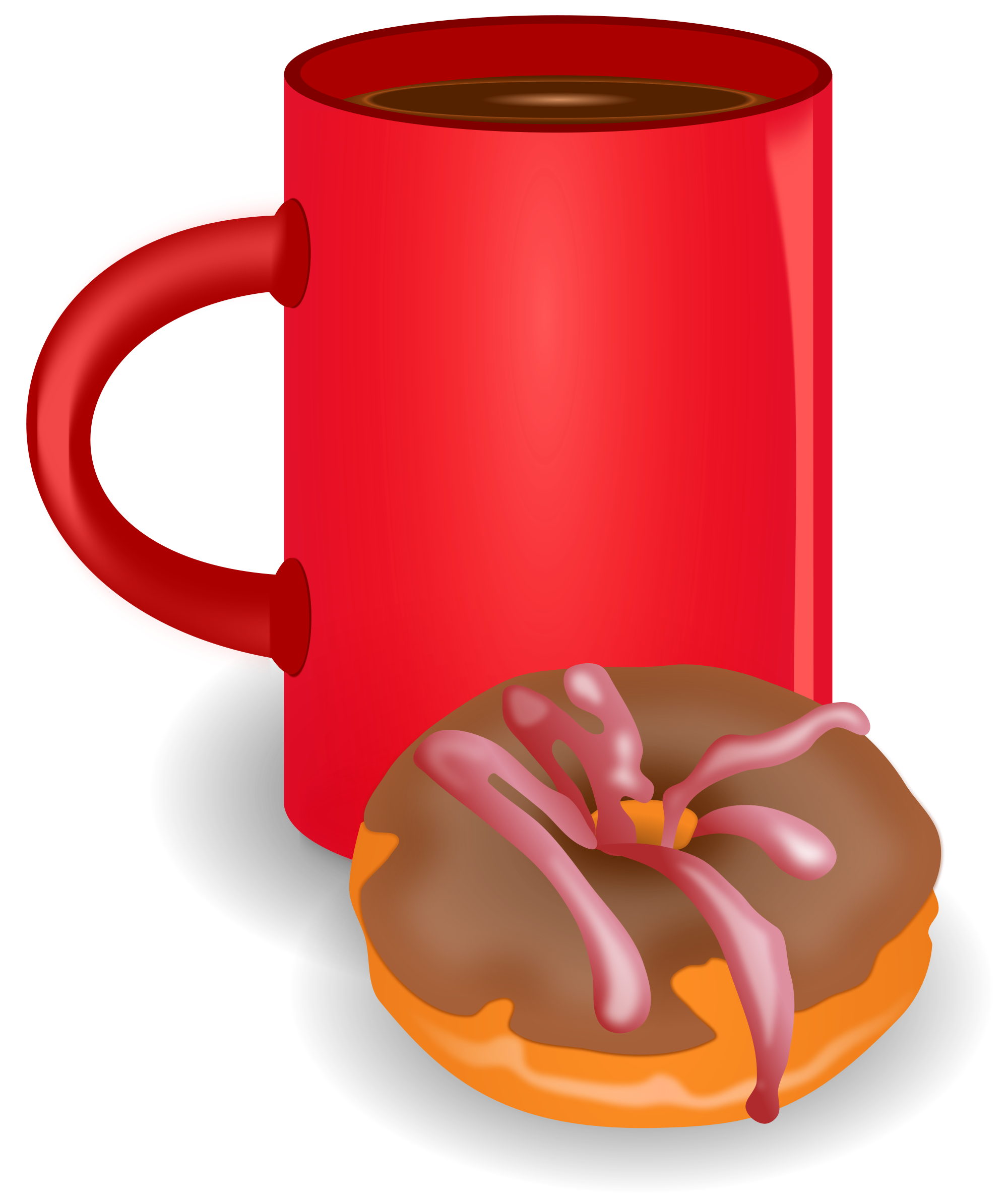 Clipart coffee file. Doghnout svg wikimedia commons