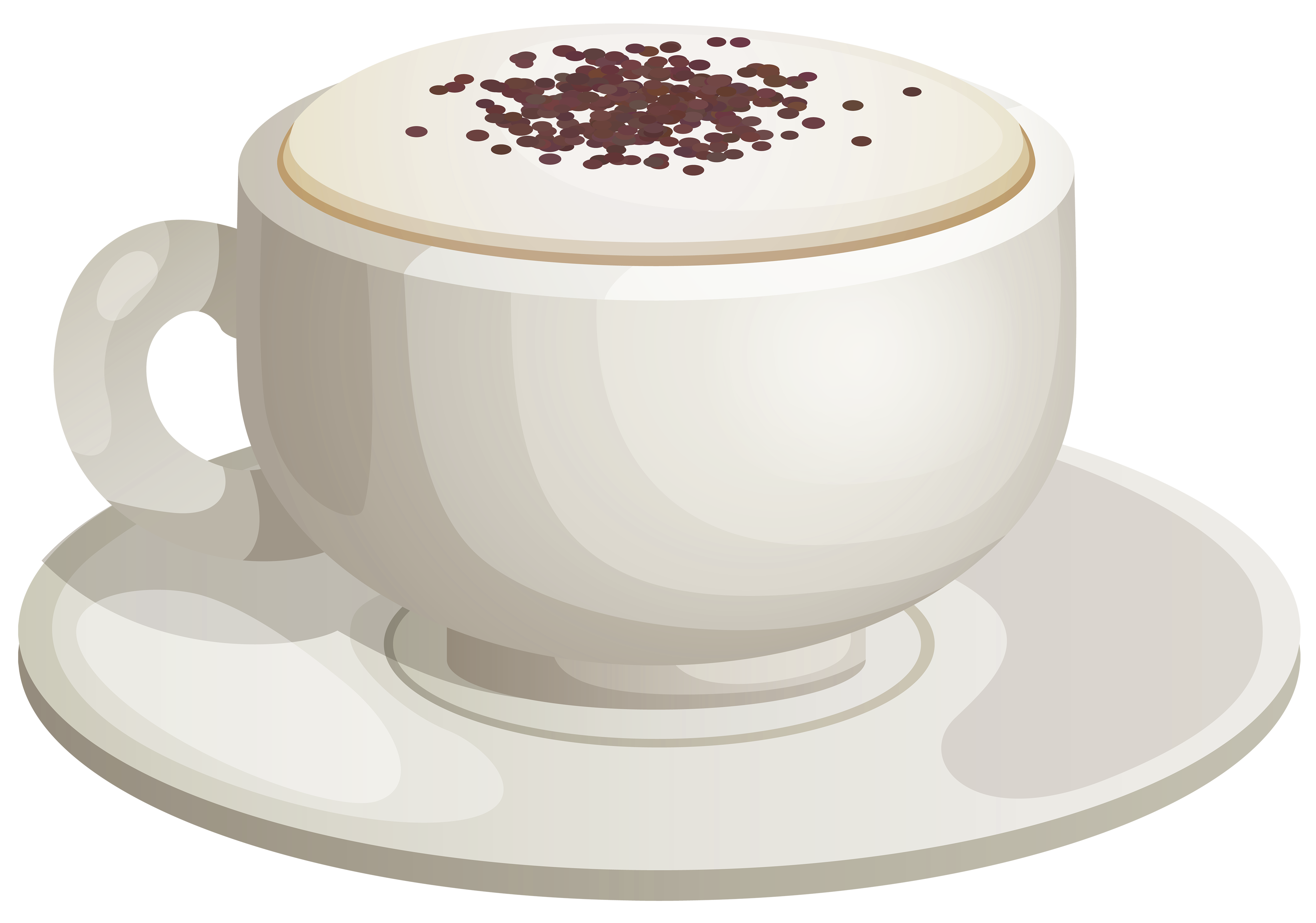 Clipart coffee foam. Cappuccino png images free