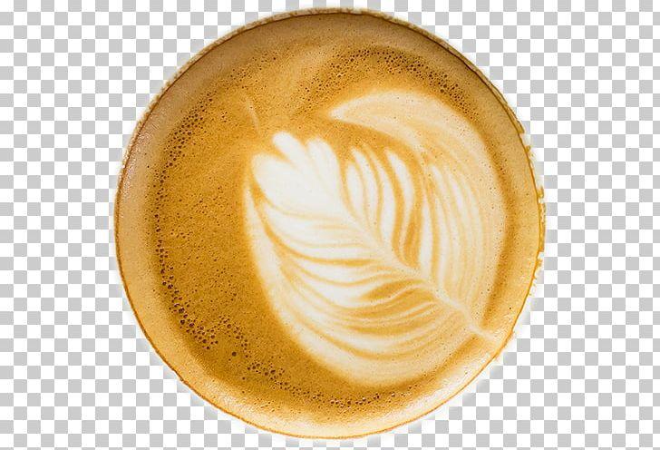 Flat white latte caf. Clipart coffee foam