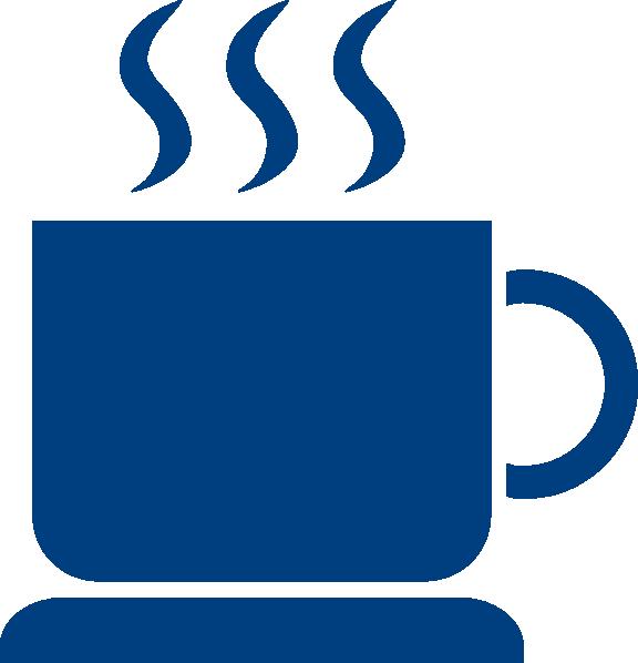Mug clipart cofee. Coffee blue clip art