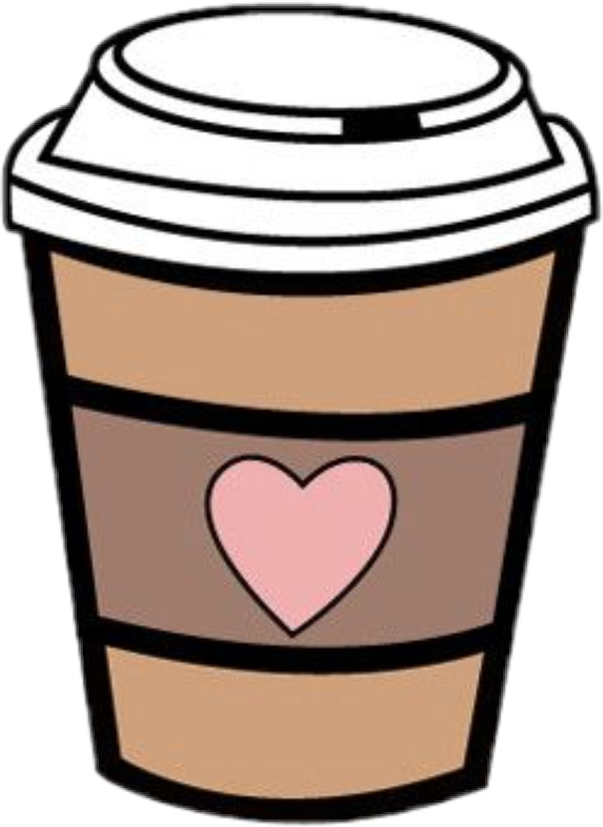 Clipart coffee heart. Sccoffee coffeecup starbucks coffeeshop