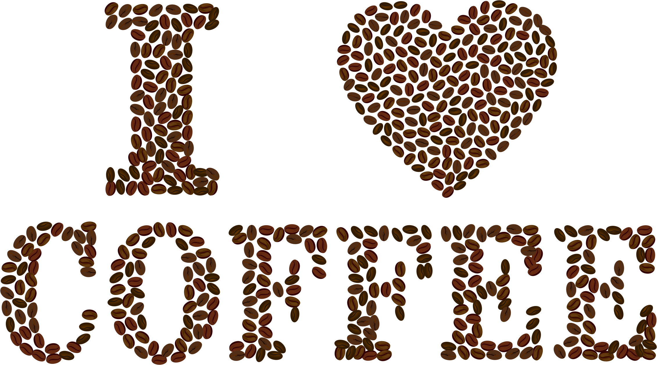 Clipart coffee heart. I big image png