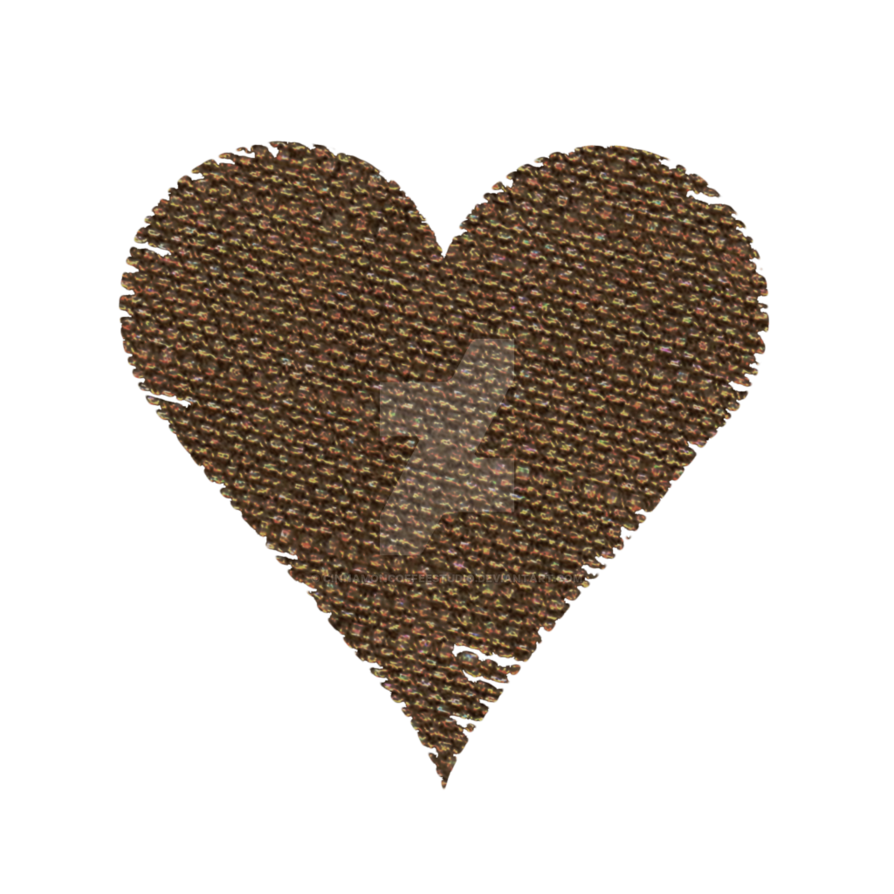 Burlap by cinnamoncoffeestudio on. Clipart coffee heart