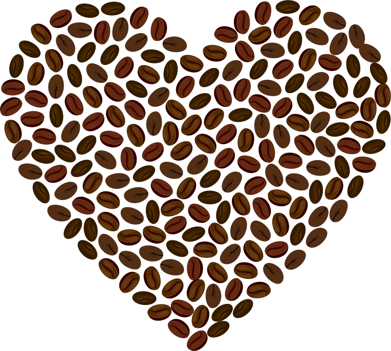 Medium image png . Clipart coffee heart