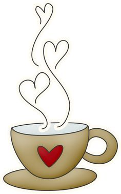 Clipart coffee heart. Free cliparts download clip
