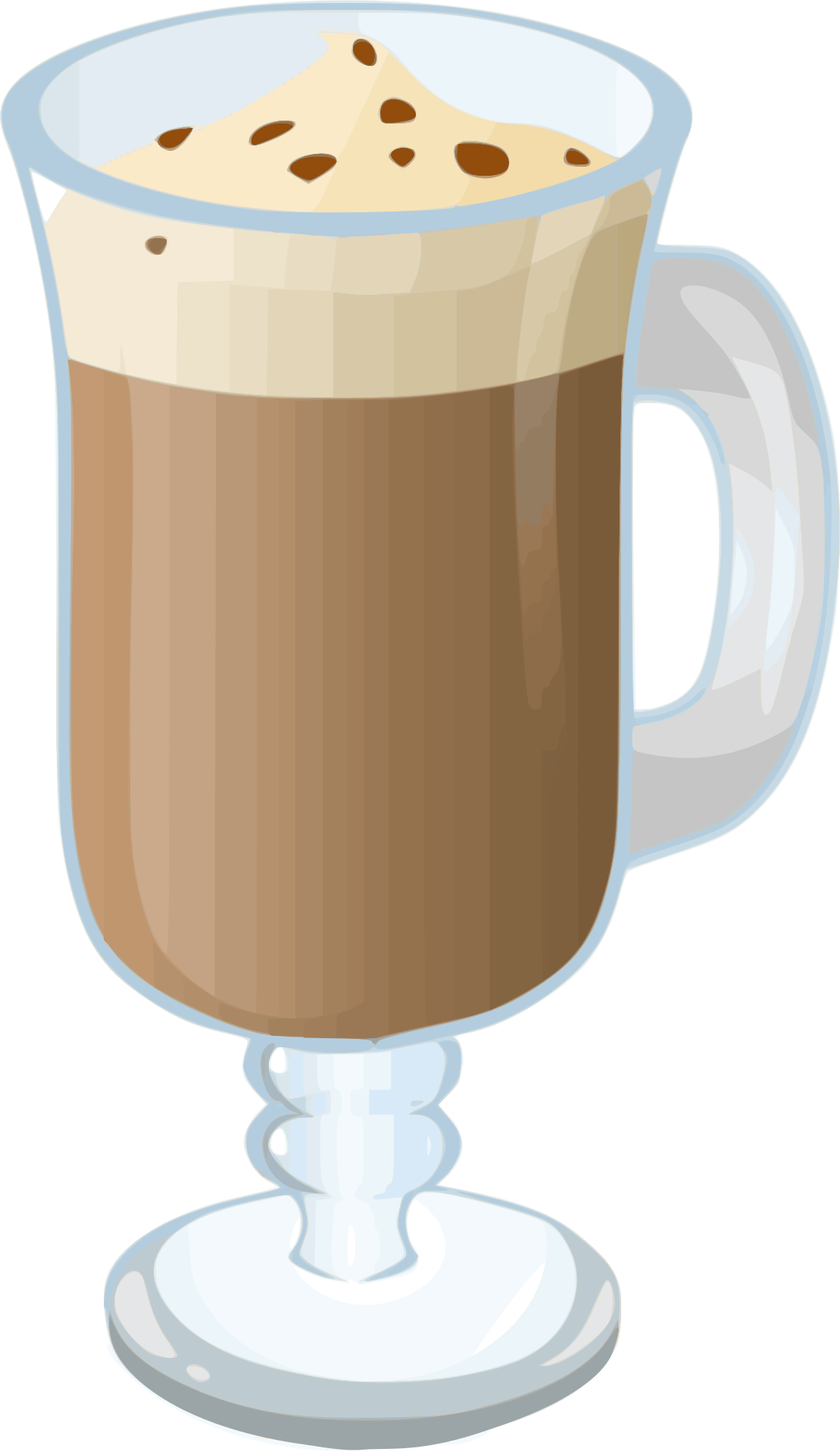 Clipart coffee hot chocolate. Clip art snow top
