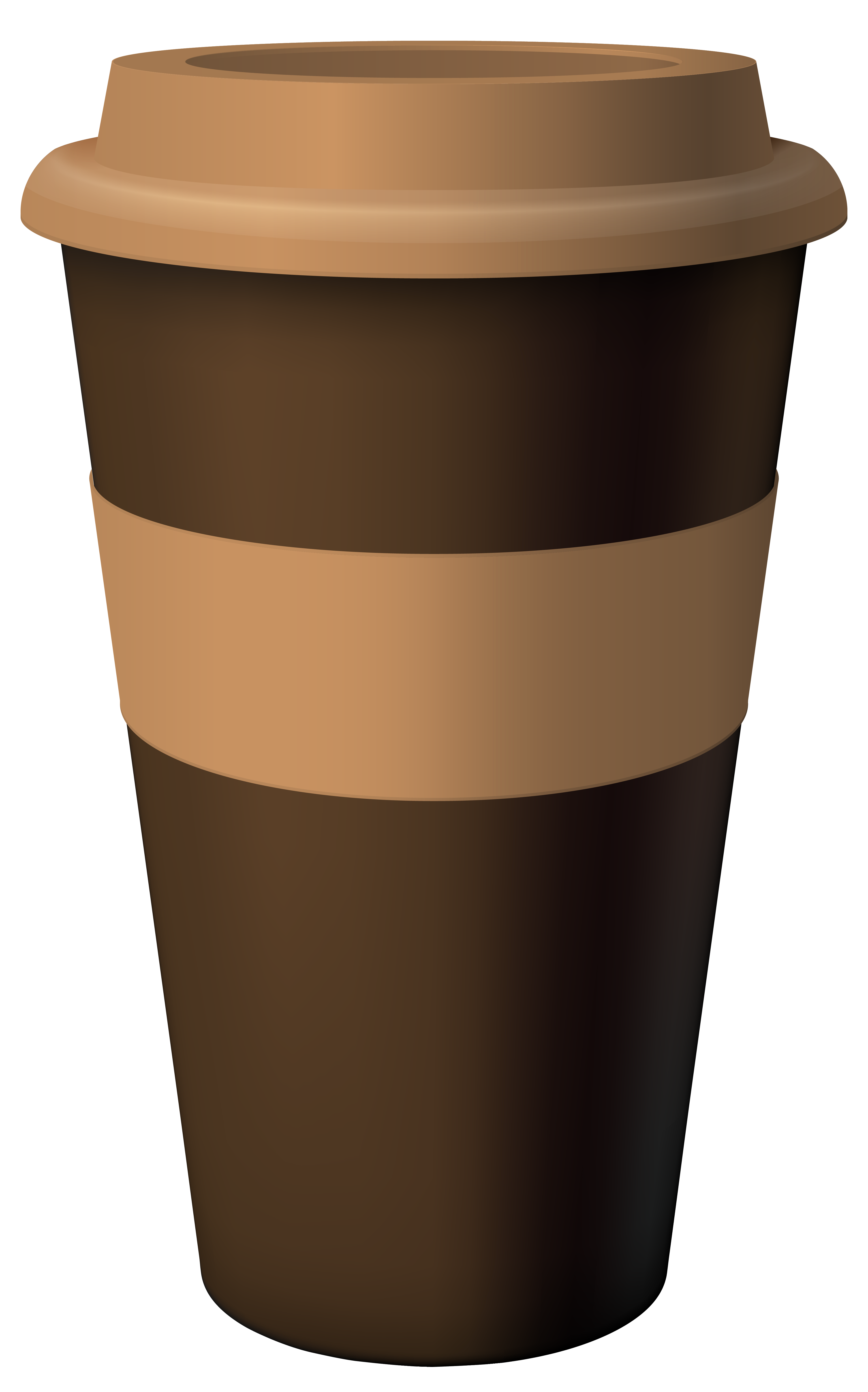 Hot clipart coffe. Brown coffee cup png