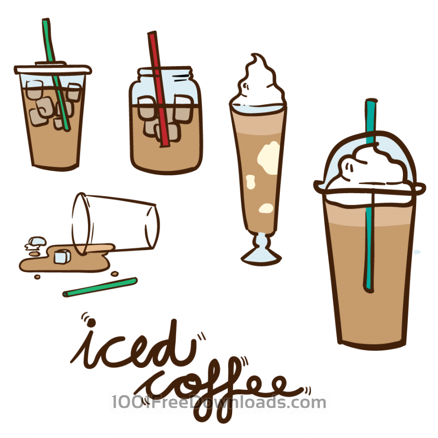 Free cliparts download clip. Clipart coffee iced coffee