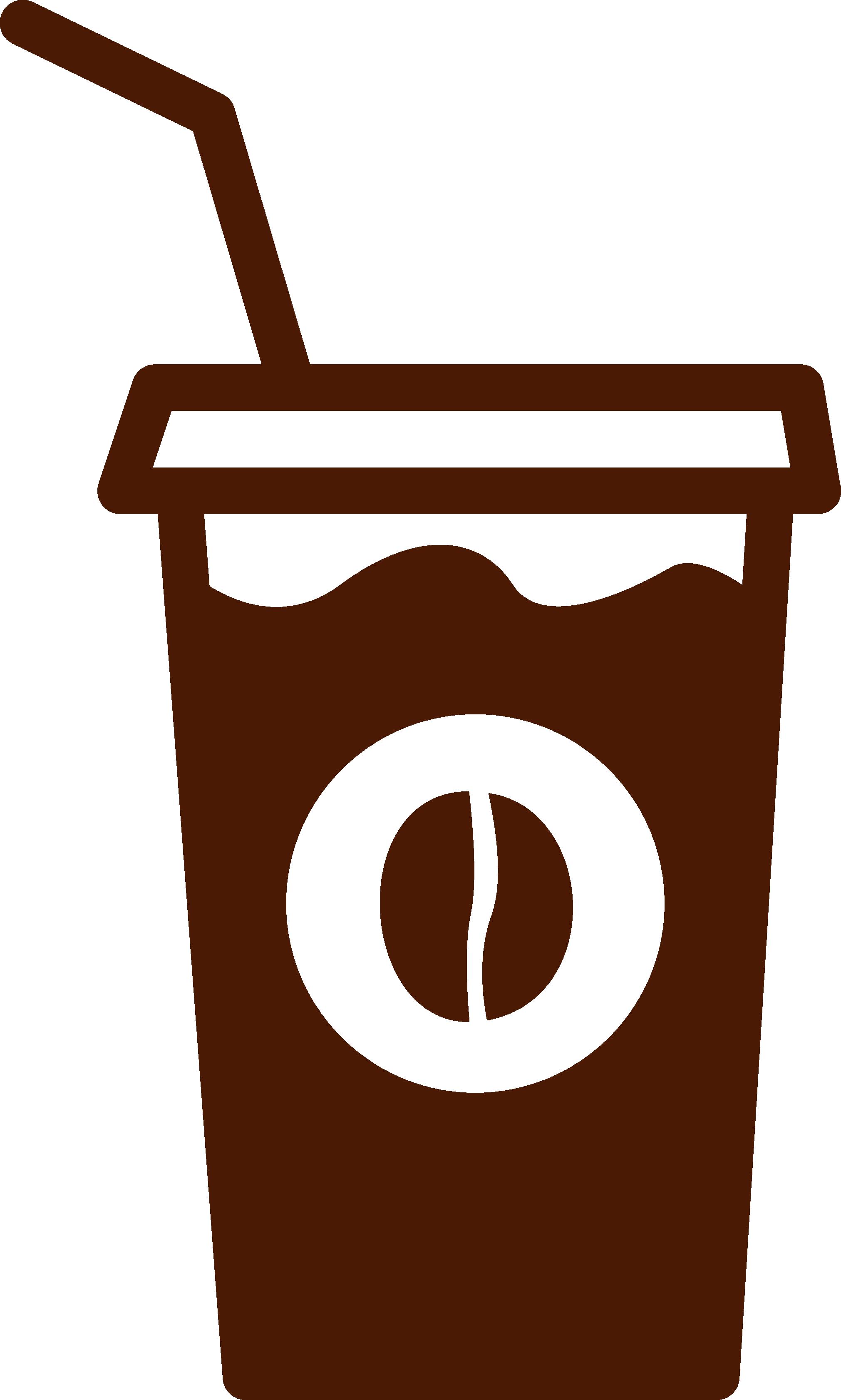 Clipart coffee iced coffee. Cappuccino latte espresso takeout