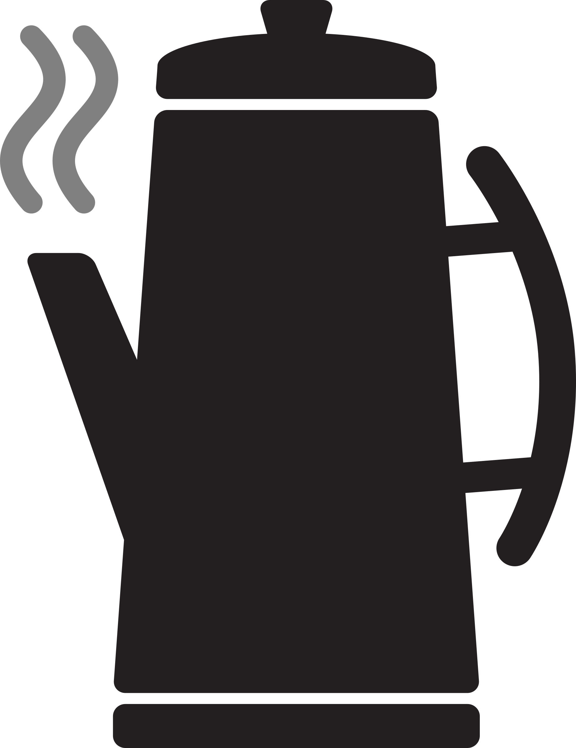 Icon coffee percolator big. Clipart kitchen kitchen appliance