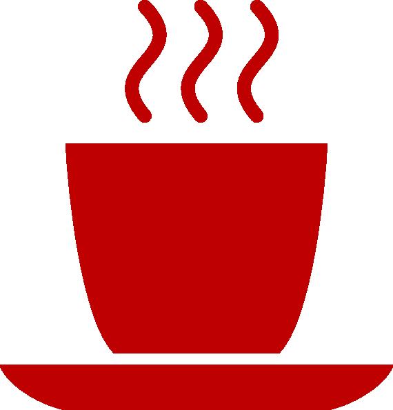 Red mug clip art. Clipart coffee icon