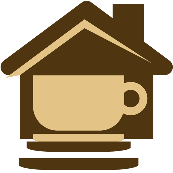 Food restaurant portfolio categories. Clipart coffee icon