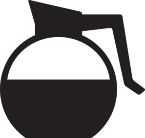 Clipart coffee jug. Pot free download best