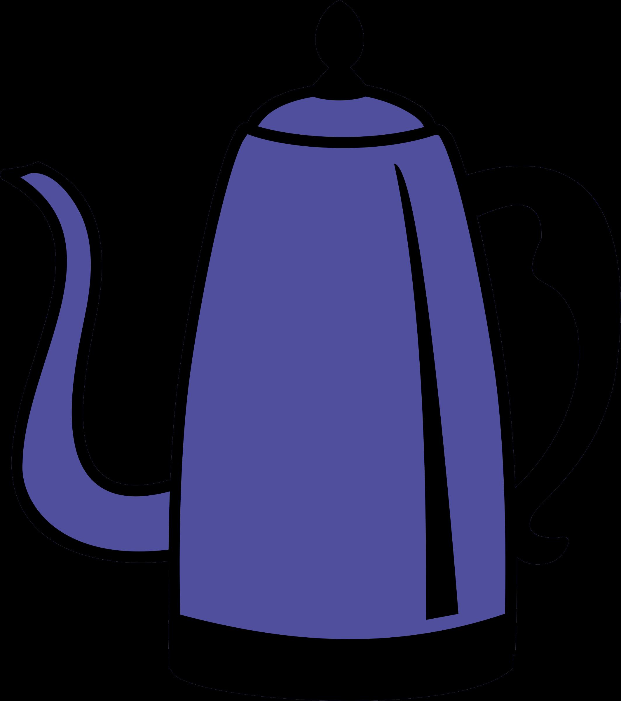 Pot big image png. Clipart coffee jug