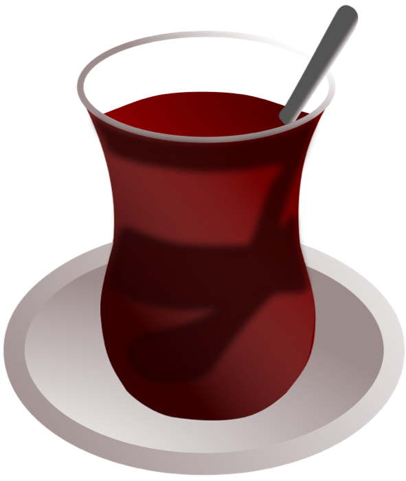 Tea and animated graphics. Clipart coffee juice